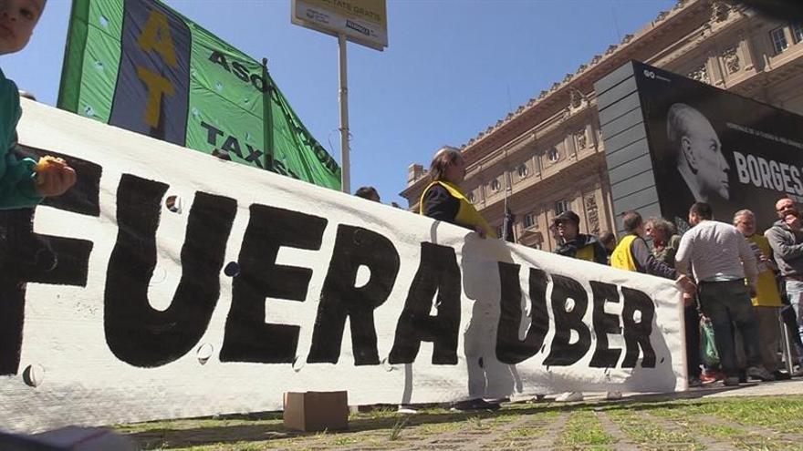 La Justicia argentina desestima una denuncia contra Uber