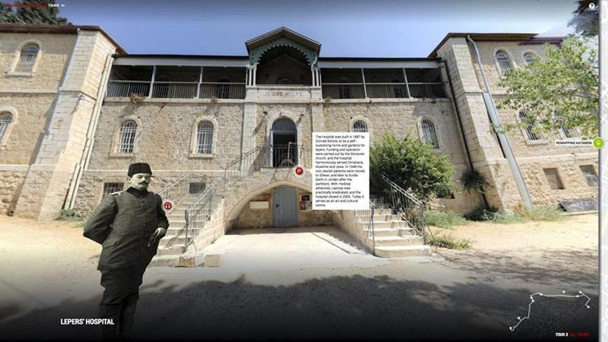 Una web deja a palestinos conocer la historia del Jerusalén dividido en 1948