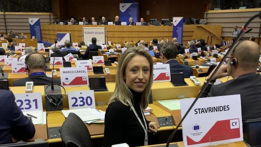 Virginia Marco, directora general de Asuntos Europeos