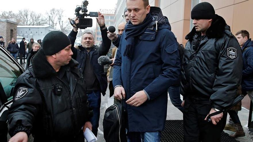 El líder opositor ruso, Alexéi Navalni, en una imagen de archivo.