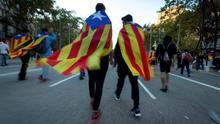 La huelga contra la sentencia pone a prueba el orden en la calle tras una semana de marchas y altercados
