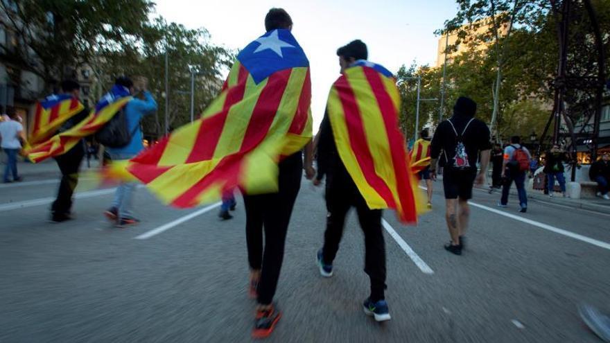 """El independentismo inicia cinco """"marchas"""" a pie contra la sentencia"""