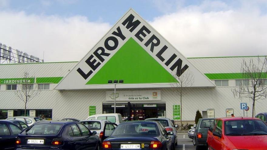 Fachada de Leroy Merlin.