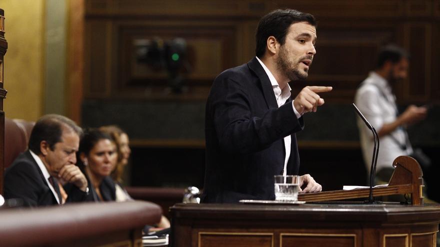 """Alberto Garzón le dice a Sanchez que es """"el momento de ser claros"""" porque si no la gente piensa que es """"una farsa"""""""