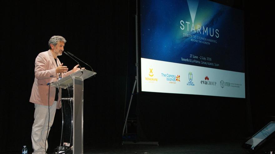 Garik Israelian, uno de los creadores del Starmus en el festival