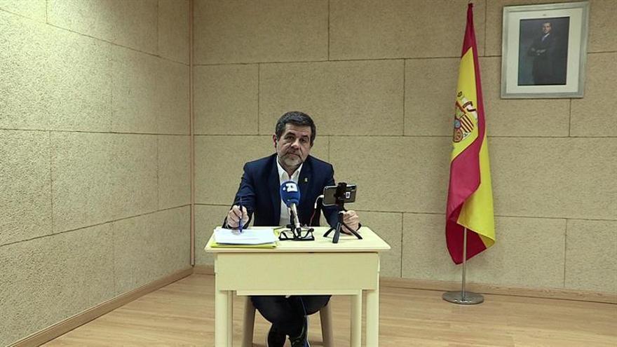 """Jordi Sànchez ofrece a ERC """"unidad"""" para """"condicionar"""" al PSOE tras el 28A"""
