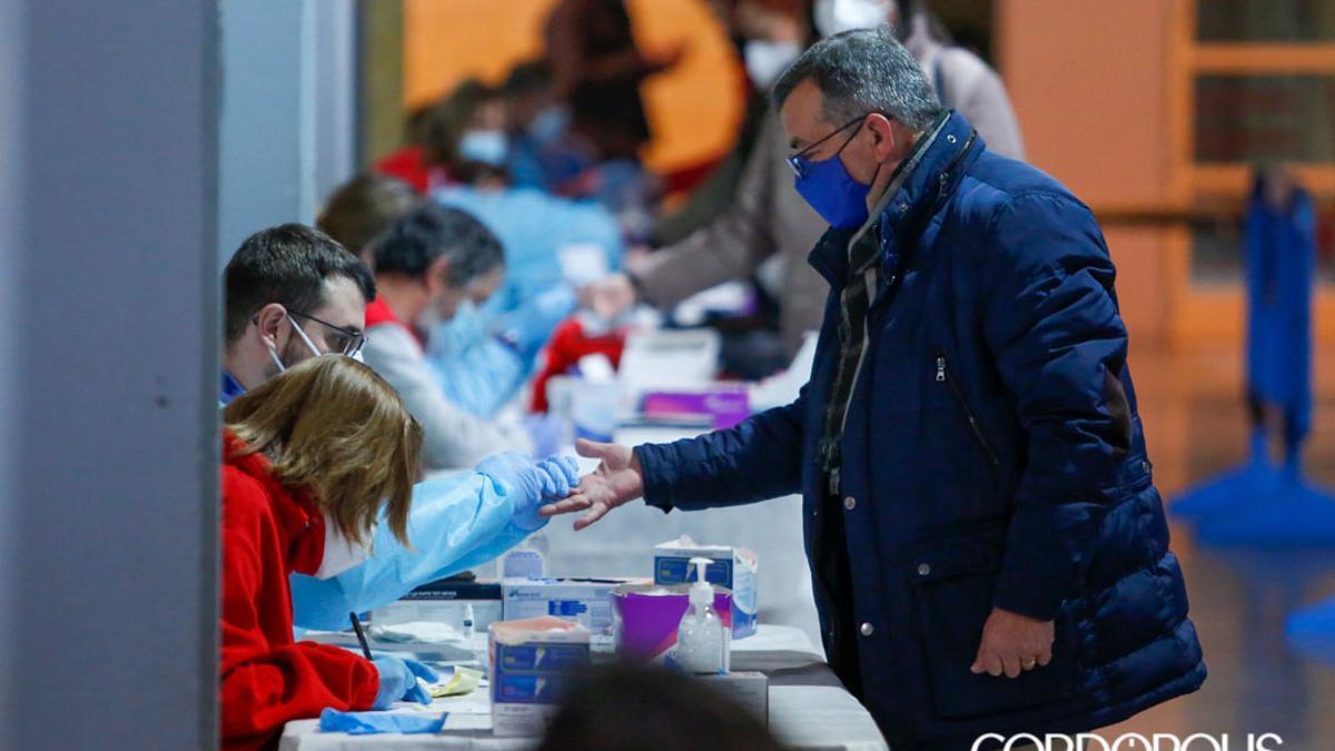 Pruebas de Covid-19 al profesorado de Córdoba en enero