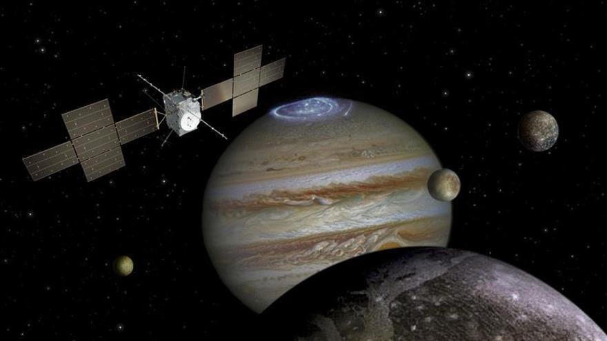 La ESA revela el aspecto de la sonda que viajará hacia Júpiter en 2022