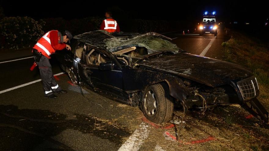 Herido grave un menor tras quebrantar la inmovilización de un vehículo y conducir con cepo 16 kilómetros