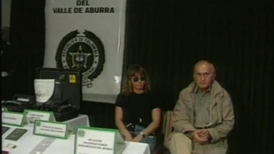 Werner Mauss después de que las autoridades colombianas revelasen su identidad. Del documental 'Der Topagent' (1998).