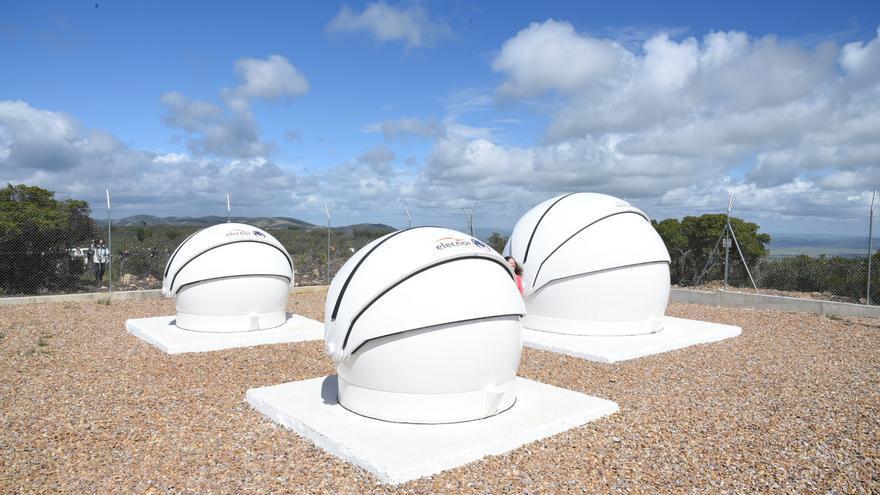 Observatorio espacial en el Valle de Alcudia