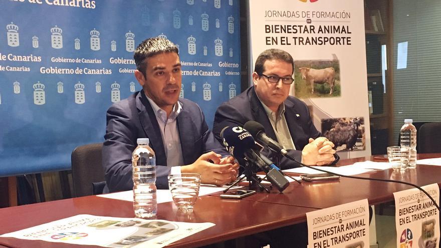 Narvay Quintero en unas jornadas de formación sobre bienestar animal.