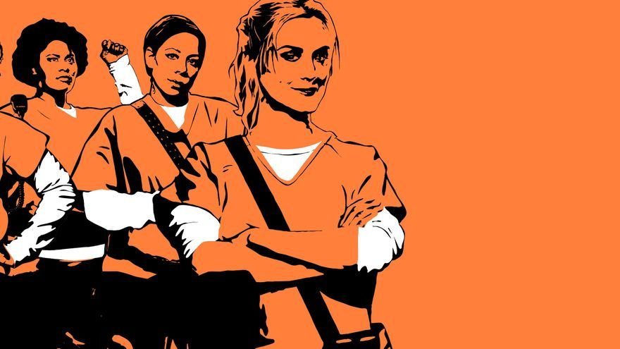 Las protagonistas de Orange Is the New Black