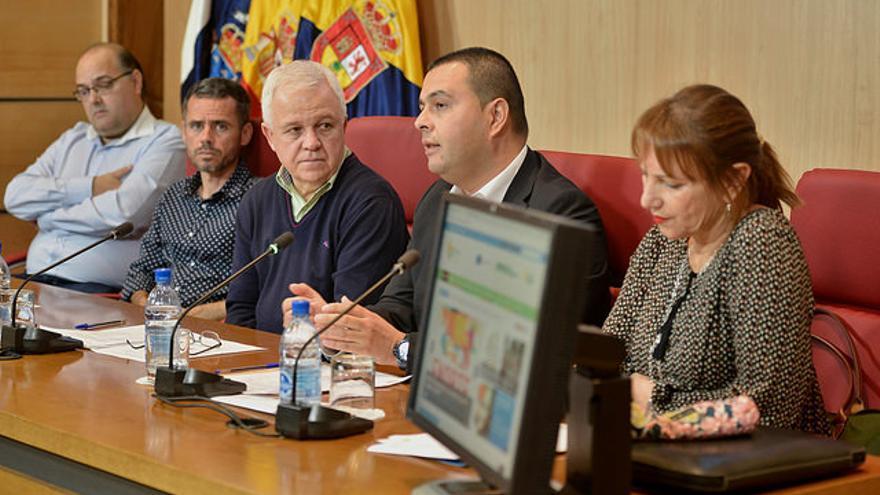 Presentación de la recuperación de senderos en el norte de Gran Canaria