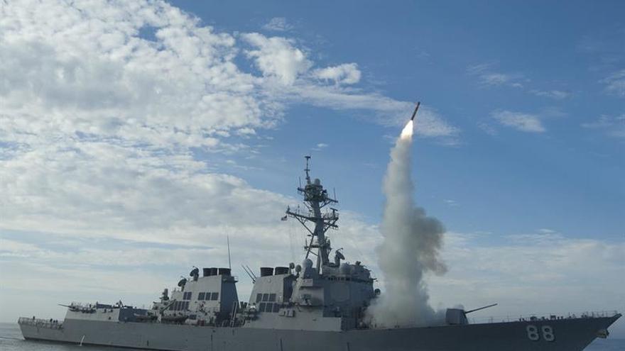 EEUU lanza un misil balístico desde California hasta un atolón del Pacífico