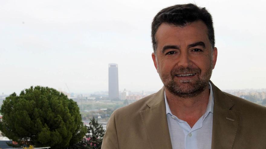 El candidato de IU a la Junta, Antonio Maíllo. / J.M.B.