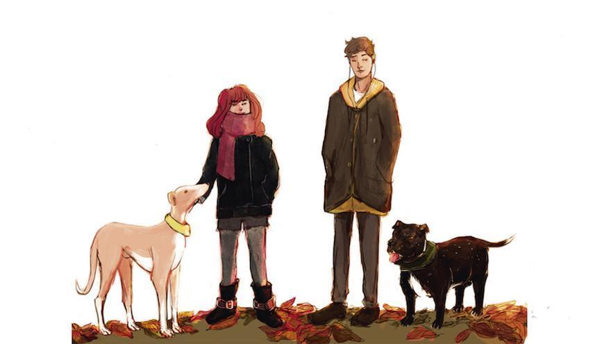 Ilustración de cubierta de 'Mastín', novela juvenil de la periodista Melisa Tuya