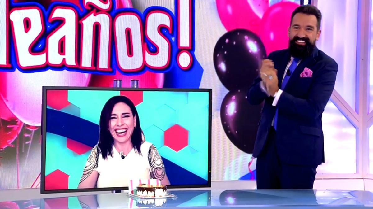 Marta Flich y Miguel Lago, en 'Todo es mentira'