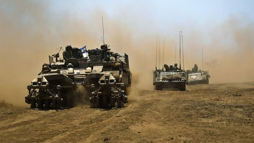Un nuevo proyectil procedente de Siria impactó en los Altos del Golán