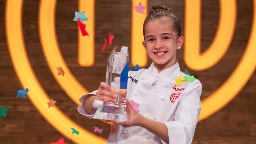 Aurora, la ganadora más joven de 'Masterchef Junior 8'