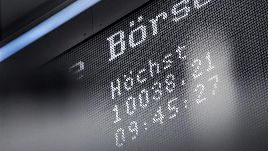 La Bolsa de Fráncfort sube un 0,87 por ciento en la apertura