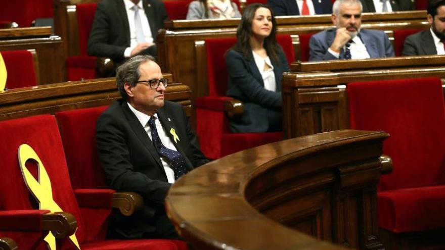 """Quim Torra exige a Alfonso Guerra que retire el insulto de """"nazi"""""""