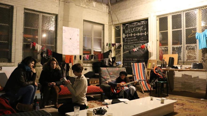En el Annexe viven unas 30 personas / Foto: Luna Gámez