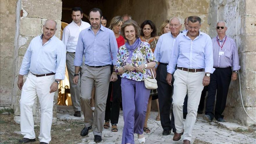 La Reina apoya la candidatura Menorca Talayótica a Patrimonio de la Humanidad