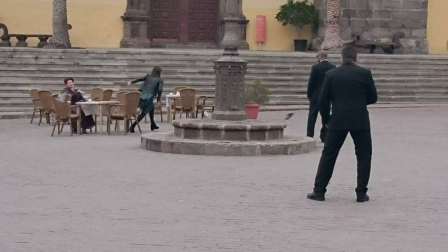 Una de las escenas de Doctor Who rodadas en Garachico.
