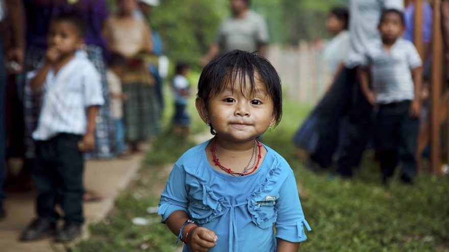 Llevamos 35 años trabajando contra la desigualdad. Nuestro foco es la defensa de los derechos de la infancia. Foto: Greg Funnell / ActionAid