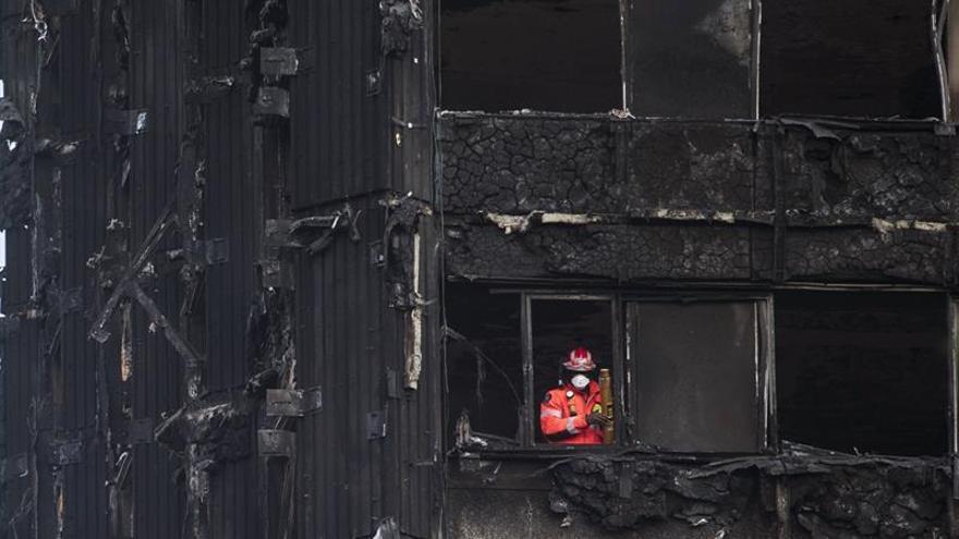 El incendio de Londres empezó a causa de una nevera defectuosa que ardió