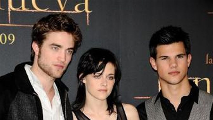 Robert Pattinson, Kristen Stewart y Taylor Lautner presentan 'Luna Nueva'