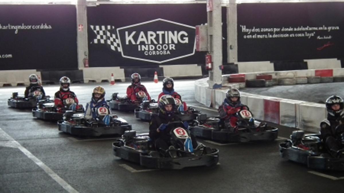 Imagen del circuito del Karting Indoor Córdoba