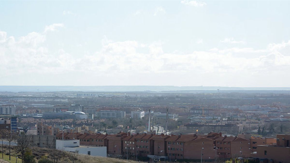 Imagen de Valladolid, donde según Ecologistas en Acción se superó en 2014 los niveles de partículas y ozono recomendados por la OMS.