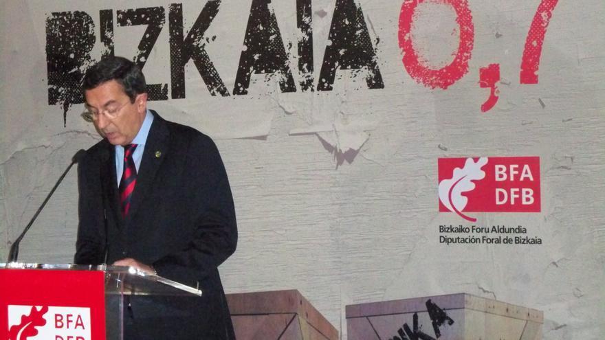 Diputado general de Vizcaya cree que la presencia de la selección española de Bilbao sería un problema de orden público