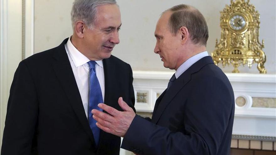 Putin trata hoy con Netanyahu acerca de las negociaciones nucleares con Irán