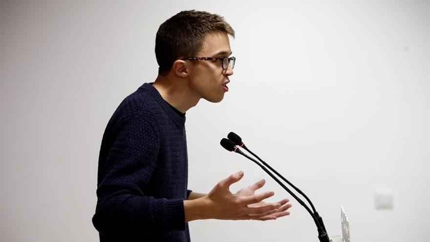 Errejón pide a Podemos que corrija el rumbo y no se arrincone en la izquierda