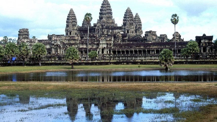 Templo de Angkor Wat.