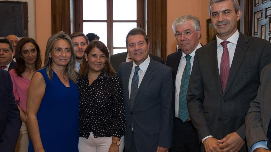 Álvaro Gutiérrez junto a otros líderes y representantes del PSOE en Toledo y en Castilla-La Mancha / Antonio Seguido