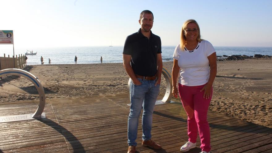 Fuengirola inicia los trámites para ampliar su playa canina a 3.000 metros cuadrados