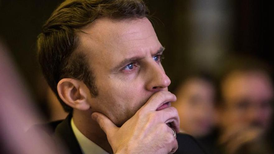 """Macron advierte a Erdogan contra una """"operación de invasión"""" turca en Siria"""
