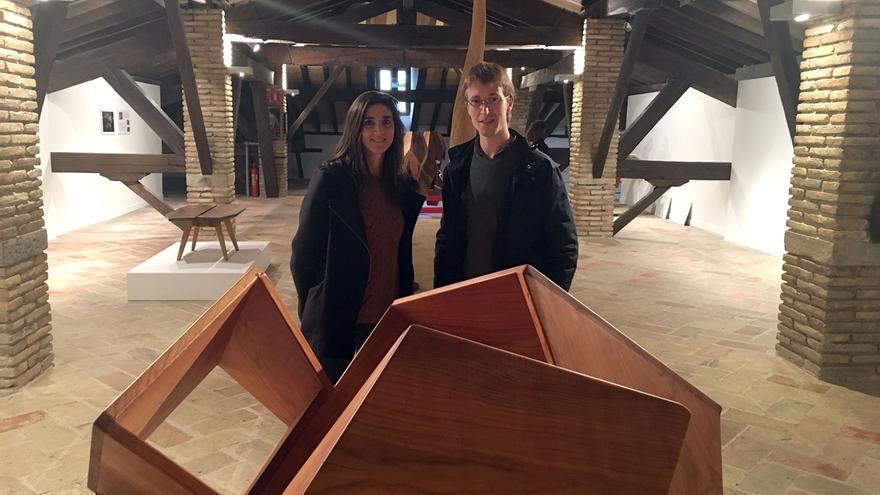 El artista navarro Aser Longás presenta sus trabajos entre escultura y arquitectura en la Ciudadela