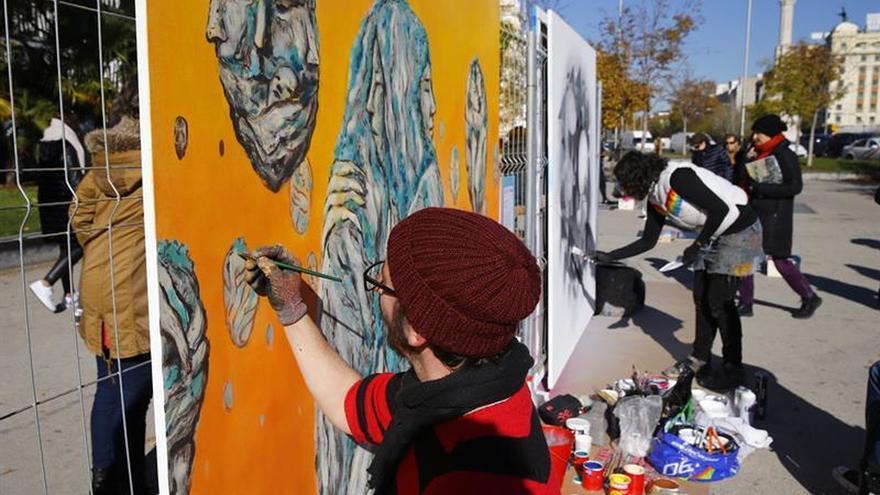 Arte urbano para luchar por la igualdad y contra la violencia de género