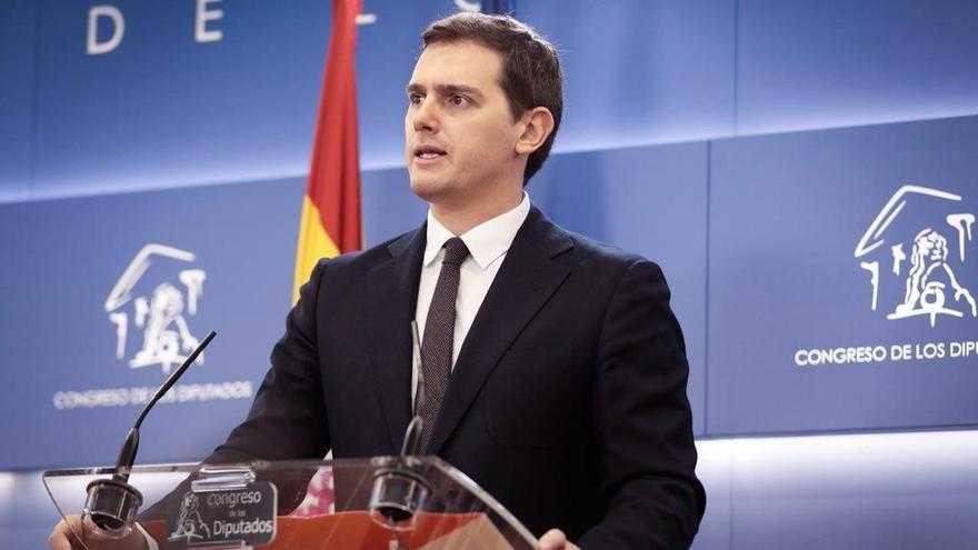 """Rivera pide al PP que deje el """"nerviosismo"""" y pare de culpar a los demás de lo que ha hecho """"mal"""""""