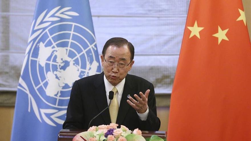 """Ban Ki-moon: cualquier interferencia militar es """"inaceptable"""""""