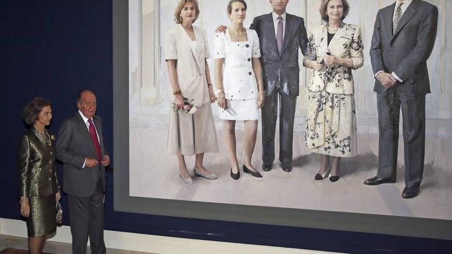 familia rey juan carlos i /Juanjo Martín EFE