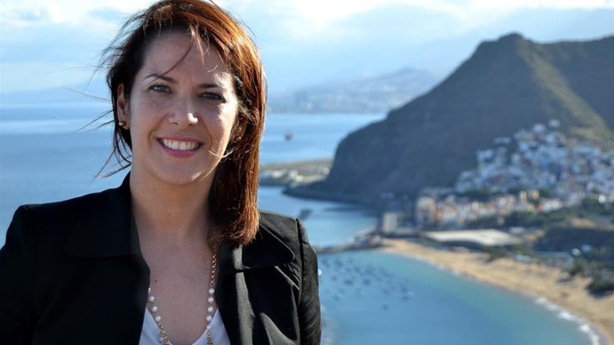 Evelyn Alonso, concejal de Ciudadanos en Santa Cruz de Tenerife.