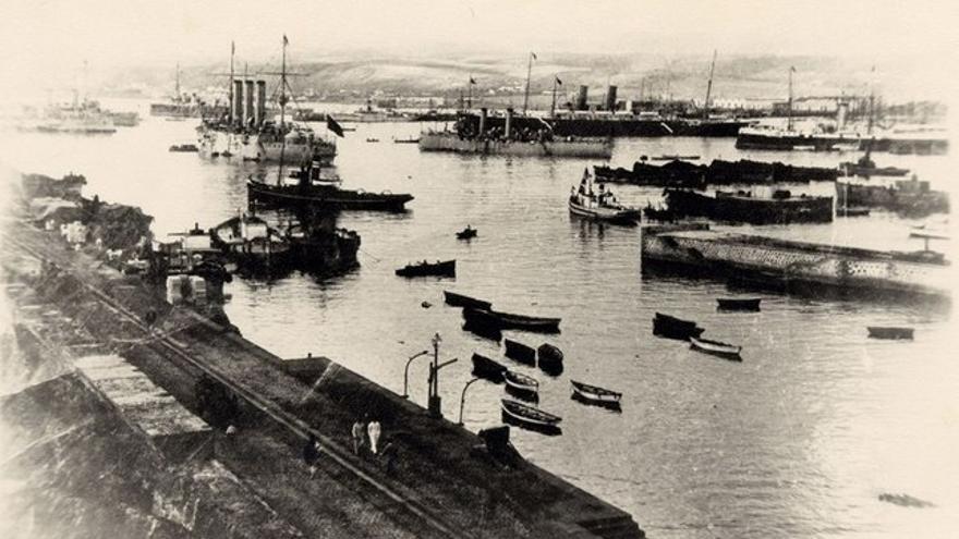 Puerto de la Luz, 1900 – 1910.