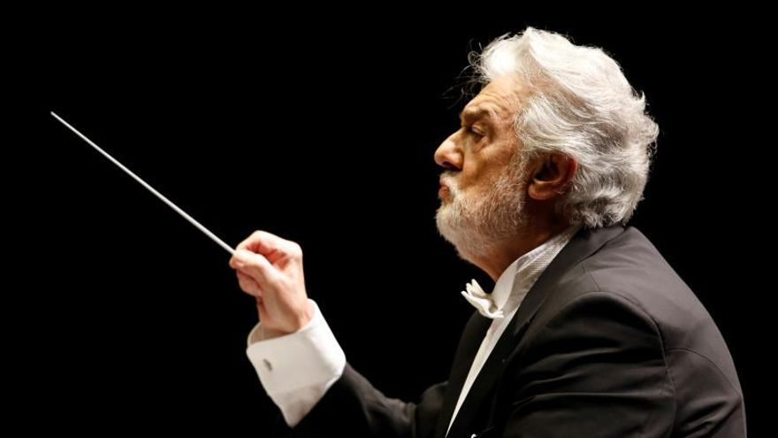 En la imagen, el tenor español Plácido Domingo.