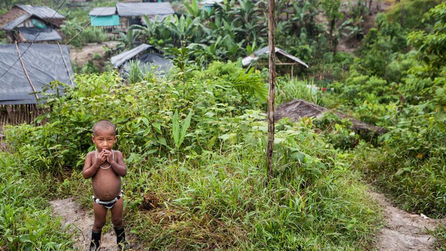 Niño indígena de Quibdó, Colombia. Foto: Salva Campillo / Ayuda en Acción